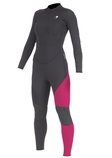 Long John Neoprene Feminino Mormaii Diva 4 3.2mm Back Zip