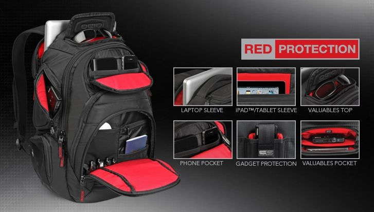 Mochila Ogio Renegade RSS Pack Black