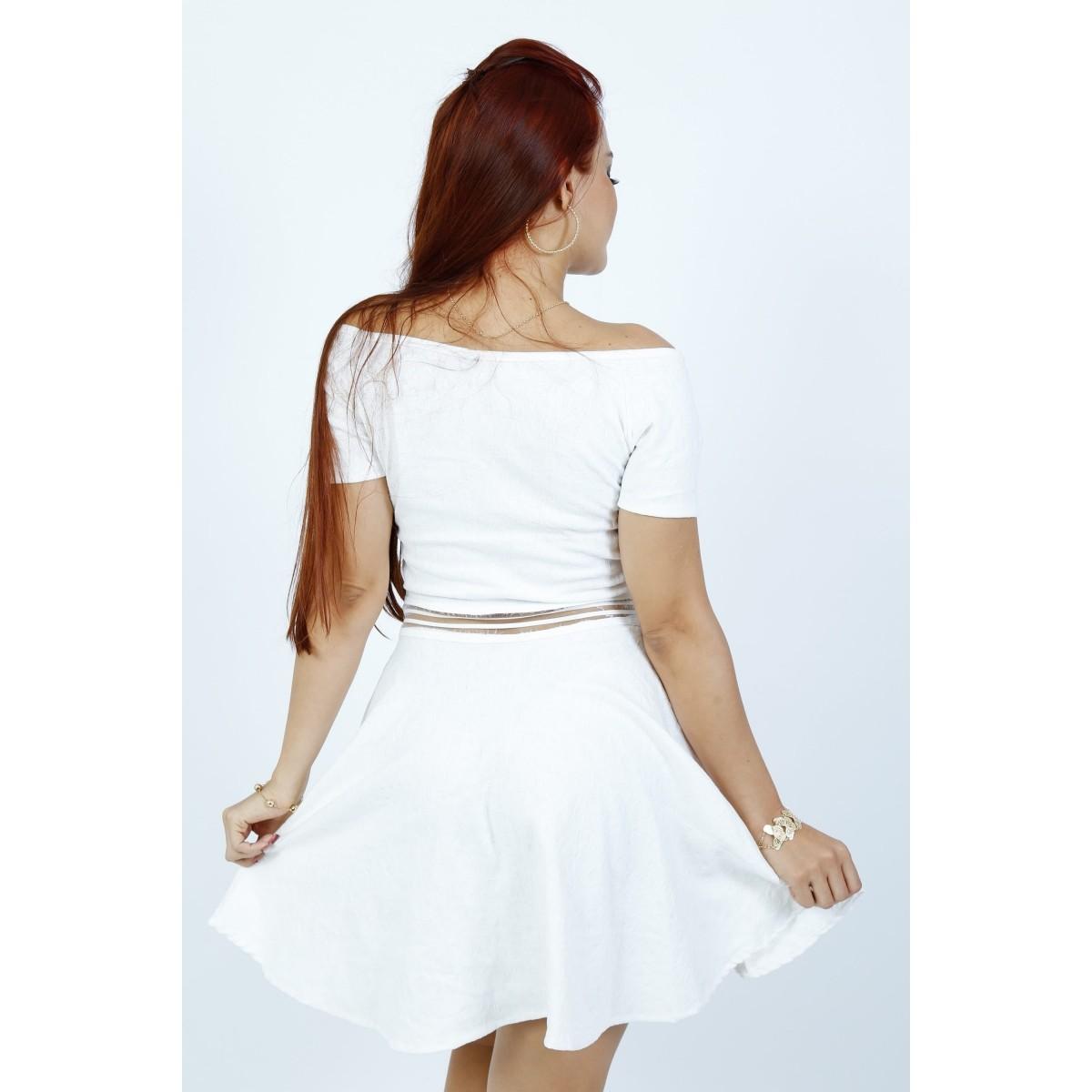 Vestidos Godê Carmen - K