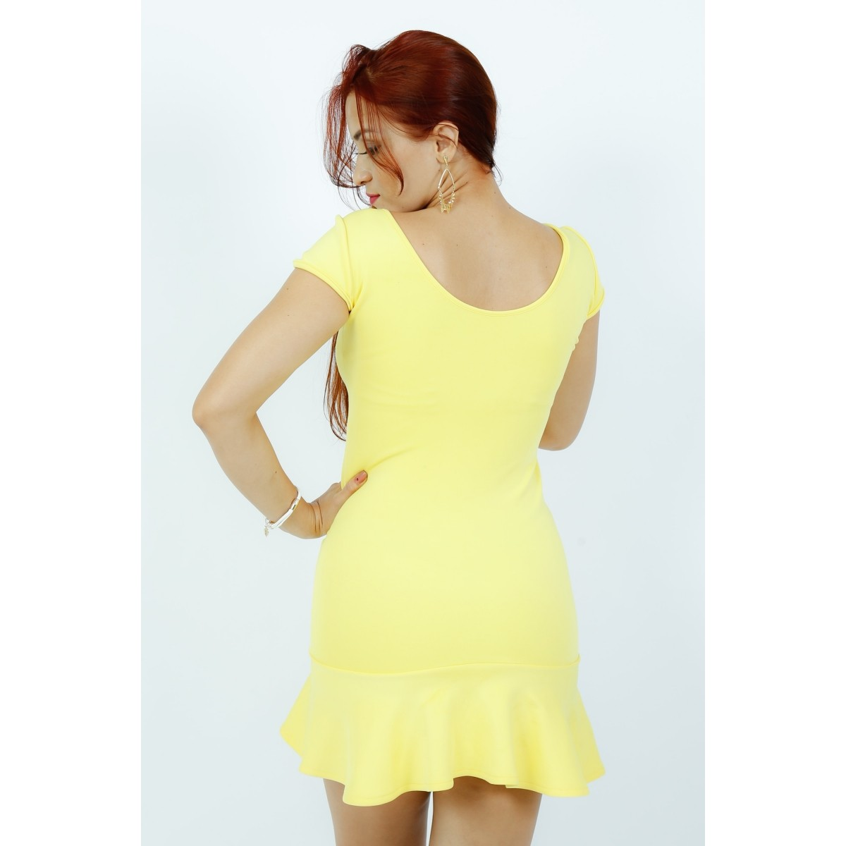 Vestido Carmen - K Peplum