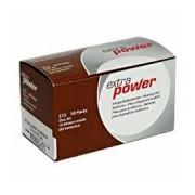 Pilhas para Aparelhos Auditivos EXTRA POWER n° 312 caixa com 60 unidades.
