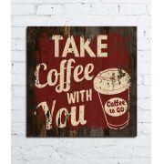 Quadro Decor Demolição - Coffe to Go