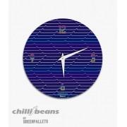 Relógio de parede ChilliBeans - Waves 80`s