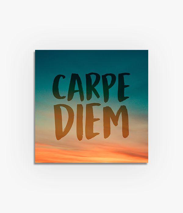 Quadro Carpe Diem  - Greenpallets