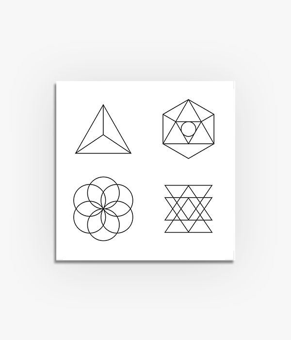 Quadro Geometria Sagrada