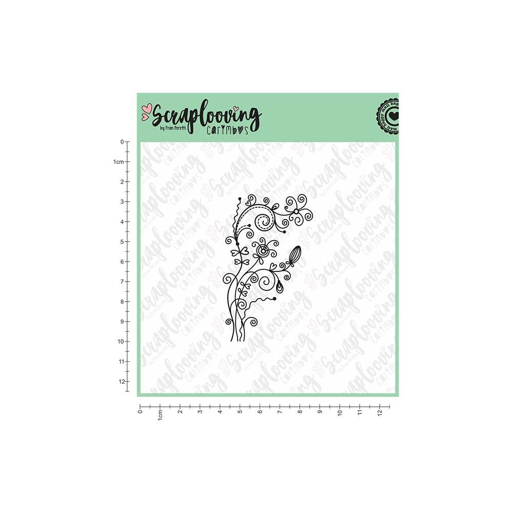 1073 Ornamento de Flores 1