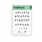 Cartela Alfabeto Brush Lettering