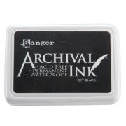 Ranger Archival Ink Pad #0 - Jet Black
