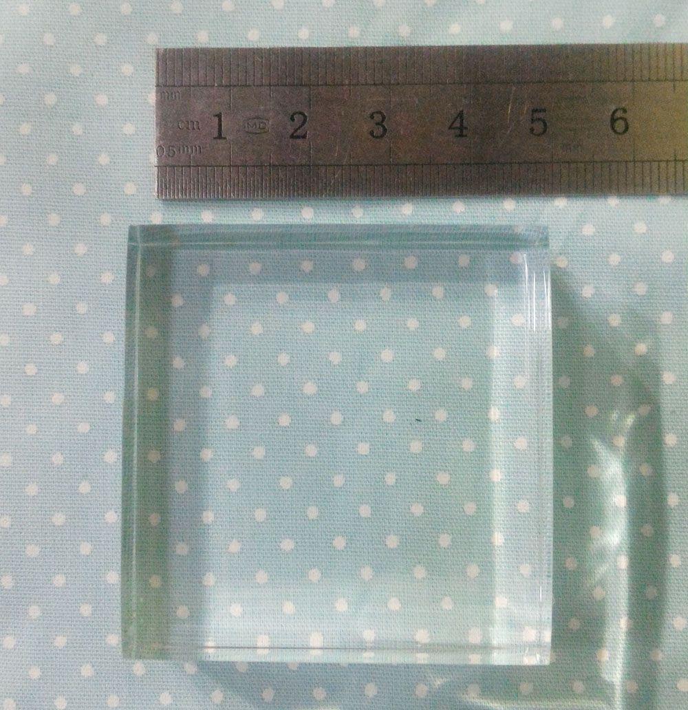 Base Acrílica 5 x 5 x 2 cm