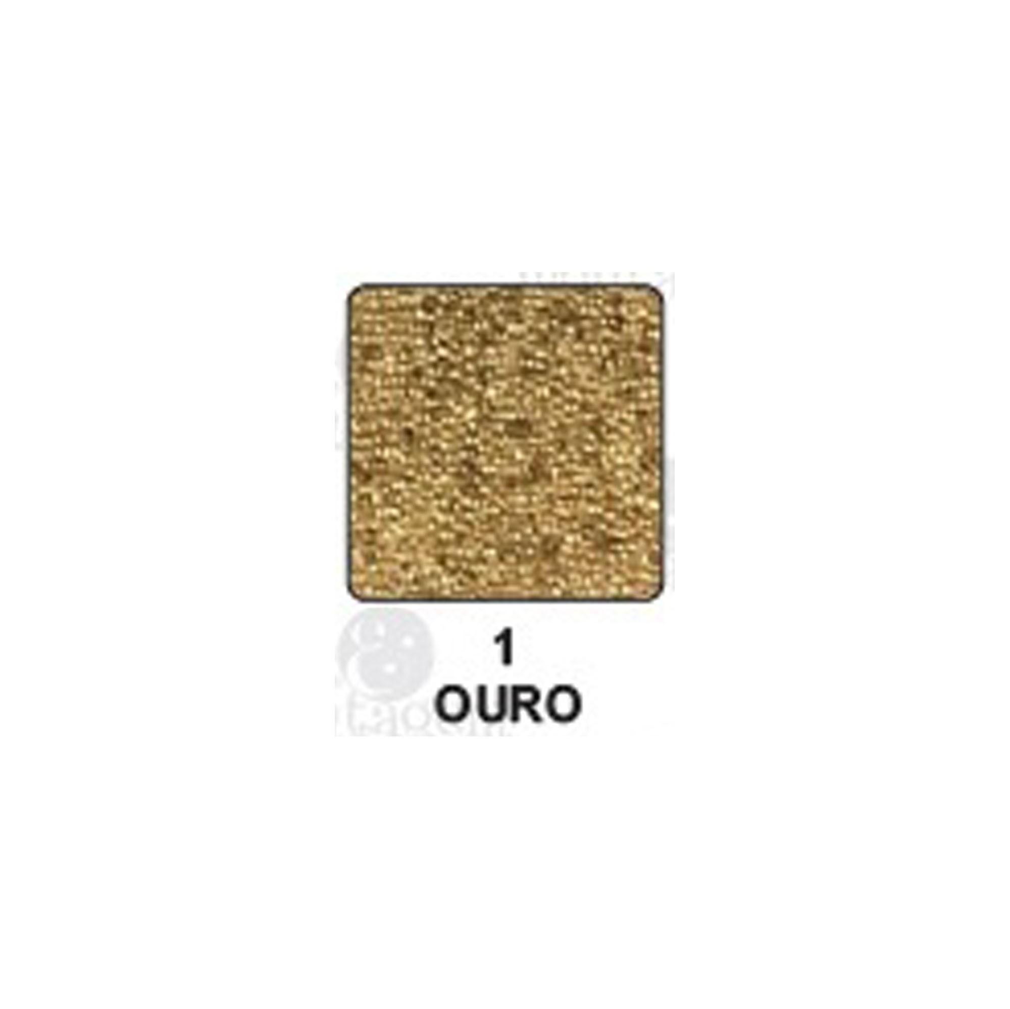 Carimbeira Art Montagem  - 3,3 x 3,3 cm - Ouro