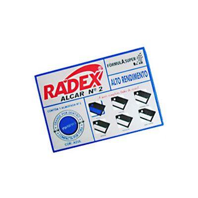 Carimbeira de Escritório ASUPER RADEX N.3 Azul