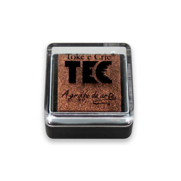Carimbeira Toke e Crie  - 3,3 x 3,3 cm - Cobre