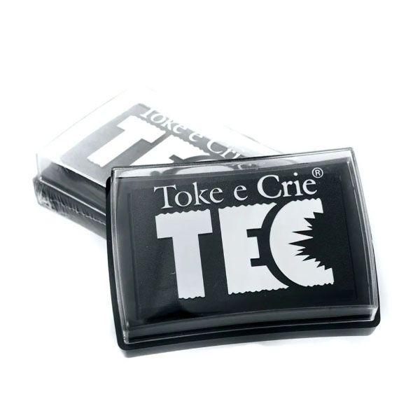 Carimbeira Toke e Crie  - 7,6 x 5,3 cm - Cinza