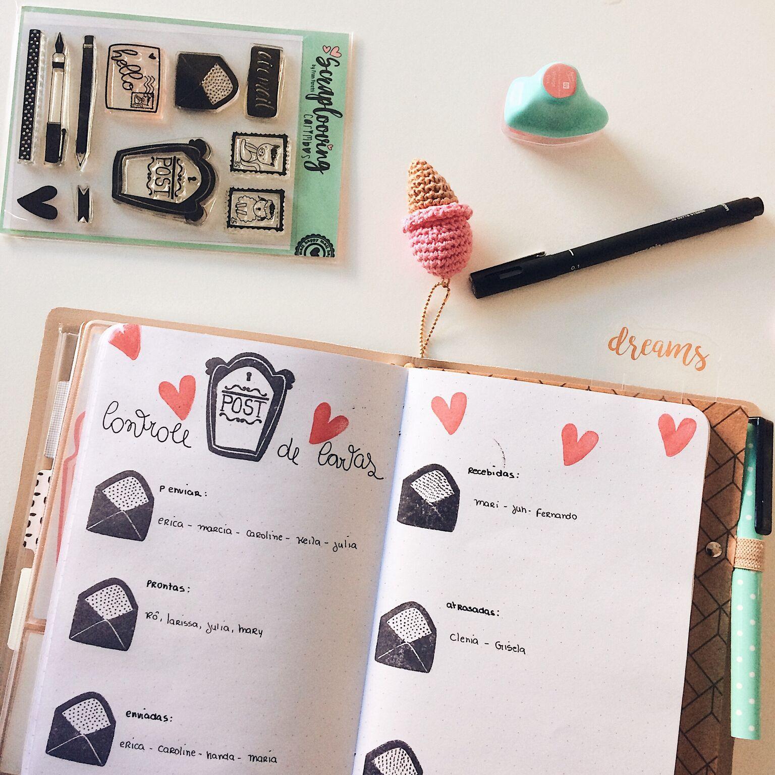 Cartela Amor em Cartas 2