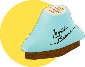 Ingvild Bolme Fluid Chalk Ink Edger Pad - Coltsfoot Stemens