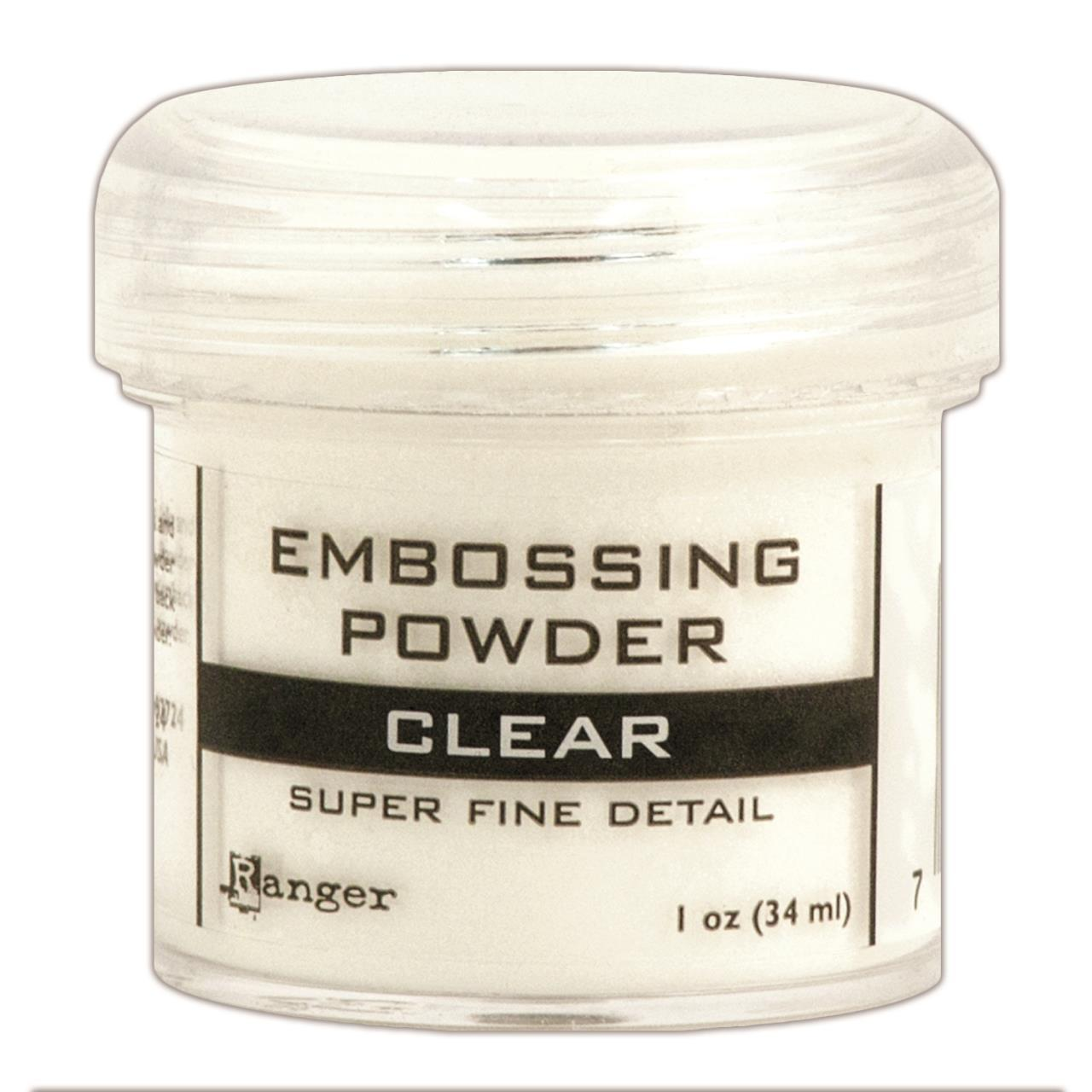 Pó para Emboss - Ranger Embossing Powder - Super Fine Clear