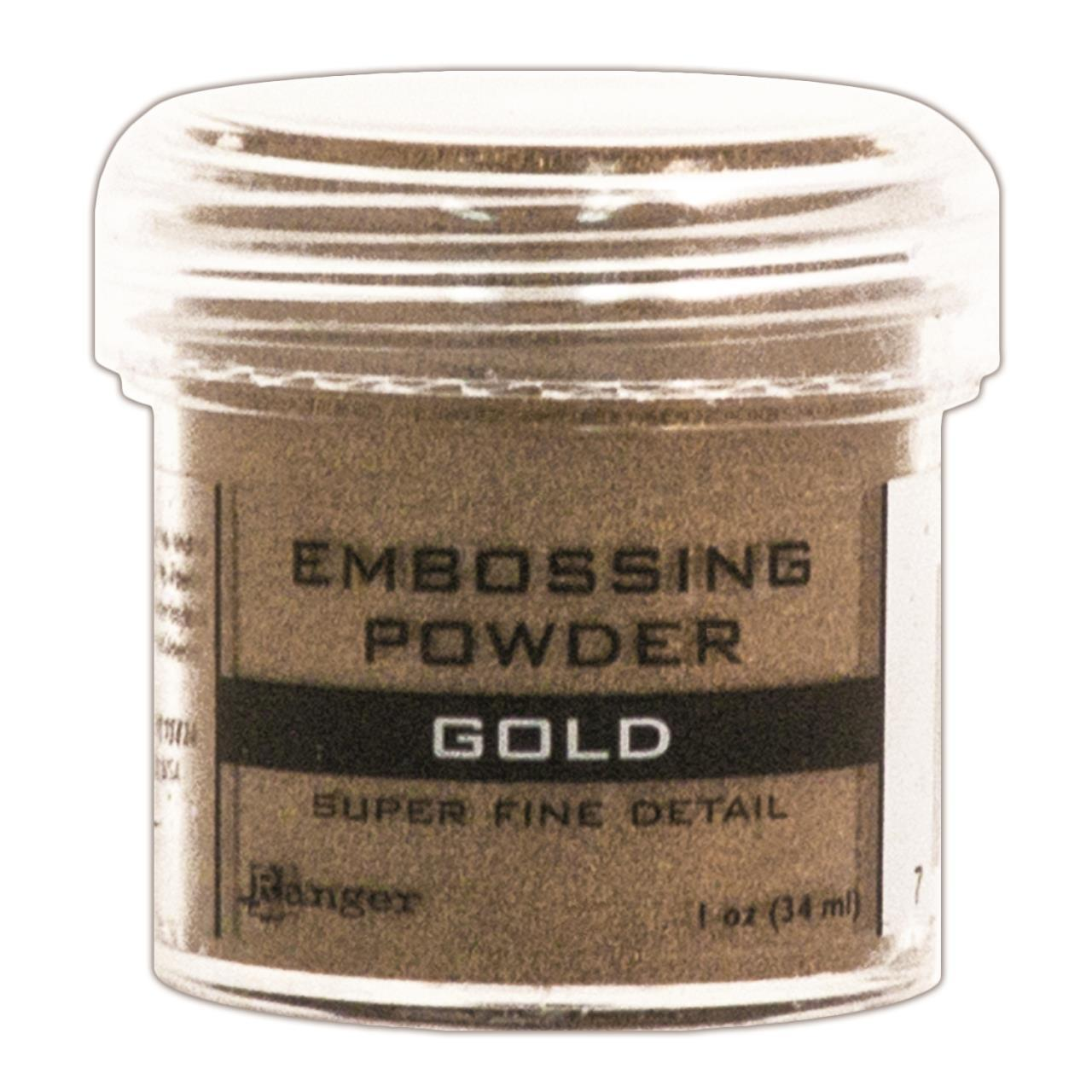 Pó para Emboss - Ranger Embossing Powder - Super Fine Gold