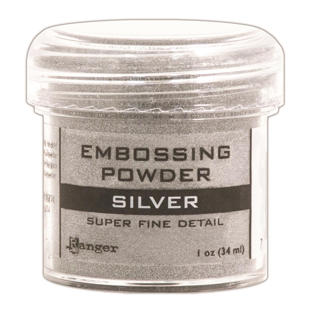 Pó para Emboss - Ranger Embossing Powder - Super Fine Silver