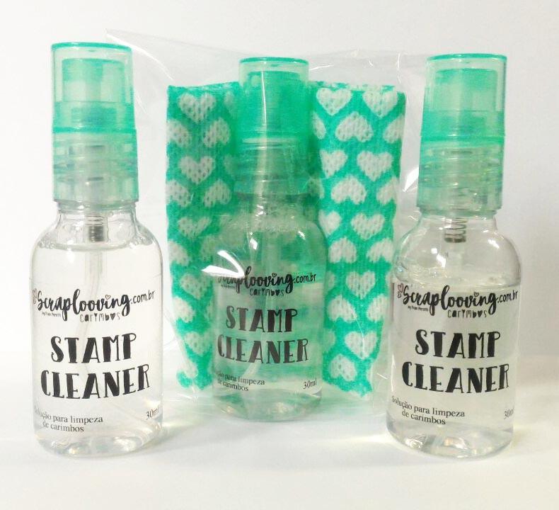 Stamp Cleaner - Solução para limpeza de carimbos
