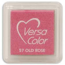 VersaColor Pigment Mini Ink Pad - Old Rose