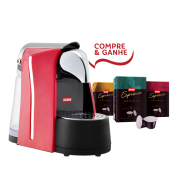 Combo Máquina Jaguari Espresso Cápsula - Vermelho