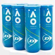 Bola de Tênis Dunlop Australian Open - Pack com 06 Tubos