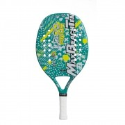 Raquete Beach Tennis MBT - LOGO AQUA