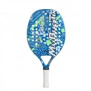 Raquete Beach Tennis MBT - LOGO CYAN