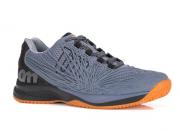 Tênis Masculino Kaos 2.0 - Clay Court Cinza e Preto