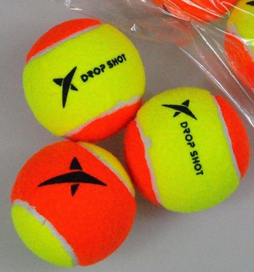 Bola de Beach Tennis Drop Shot - Pack com 03 unidades