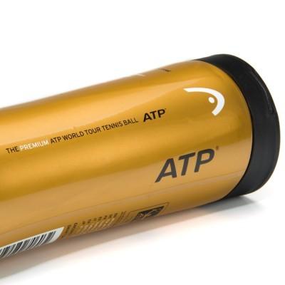Bola de Tênis Head ATP - 3 Unidades