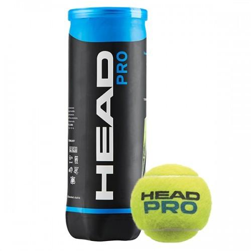 Bola de Tênis Head Pro - Tubo com 3 unidades