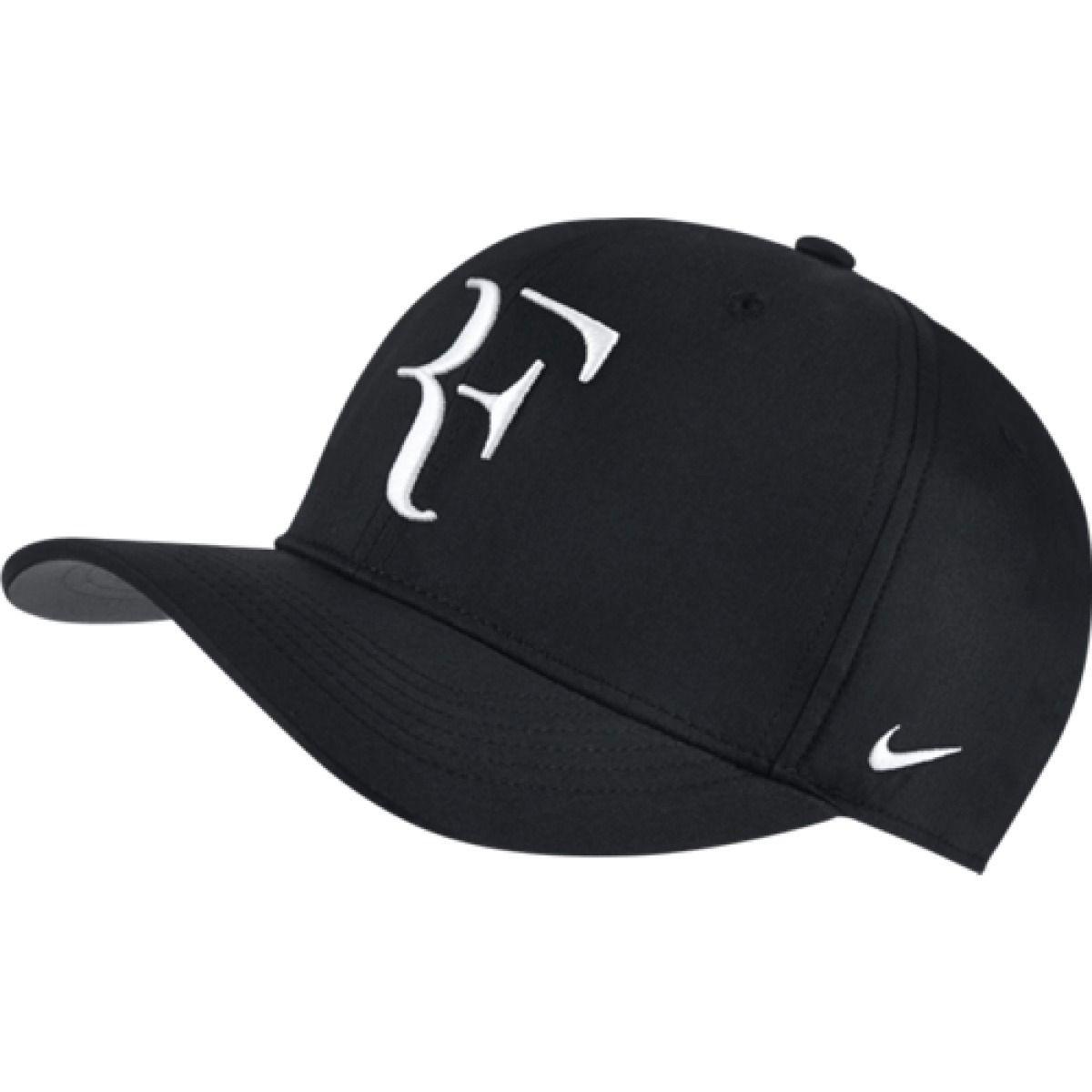 Boné Nike Aerobill Roger Federer Preto
