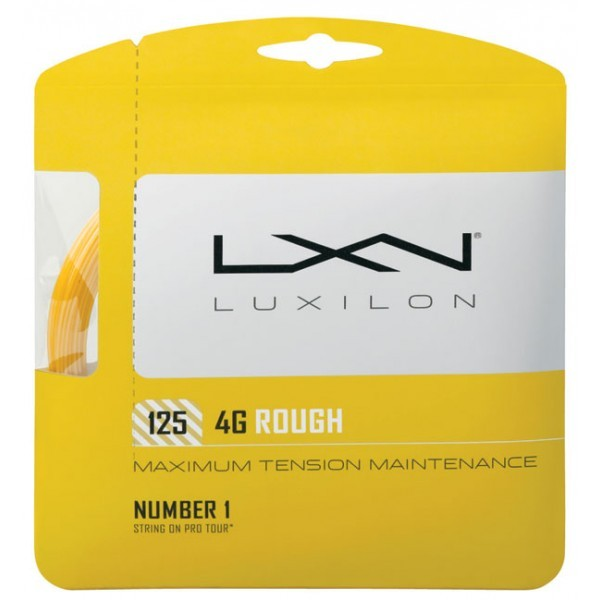 Corda Luxilon 4G Rough 125 - 16L - Set Individual