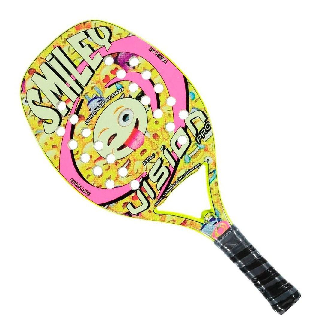 Raquete de Beach Tennis Infantil Vision Smiley 2019
