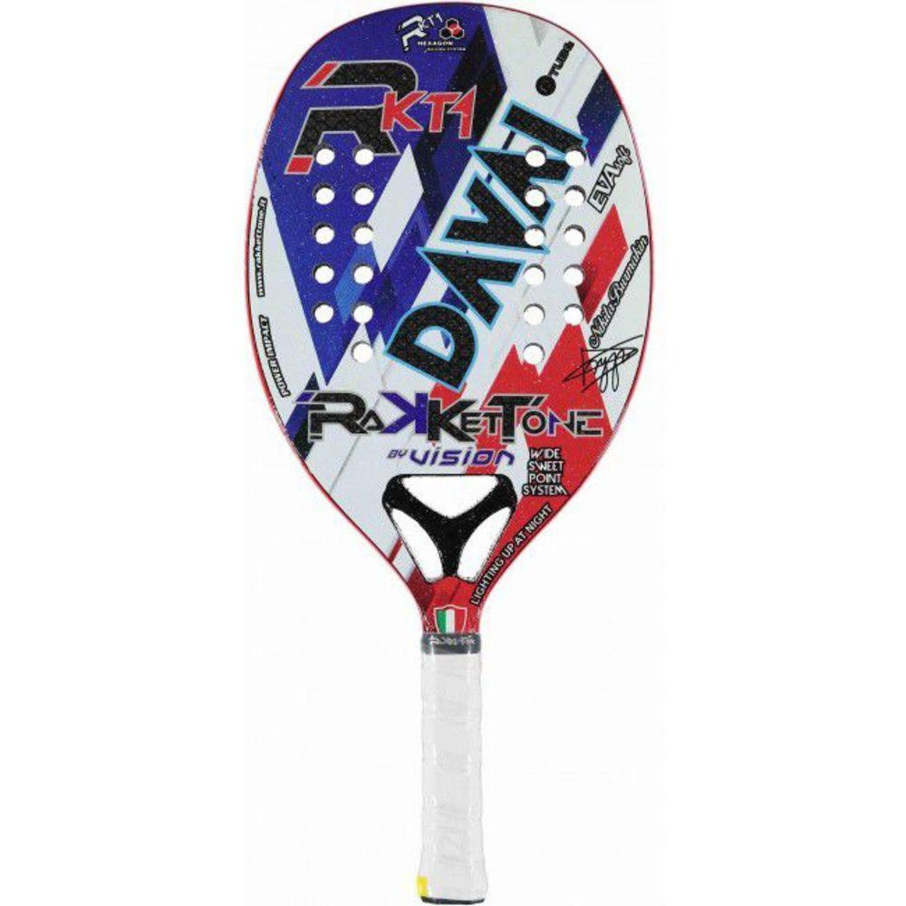 Raquete de Beach Tennis Rakkettone Davai - Edição 2019