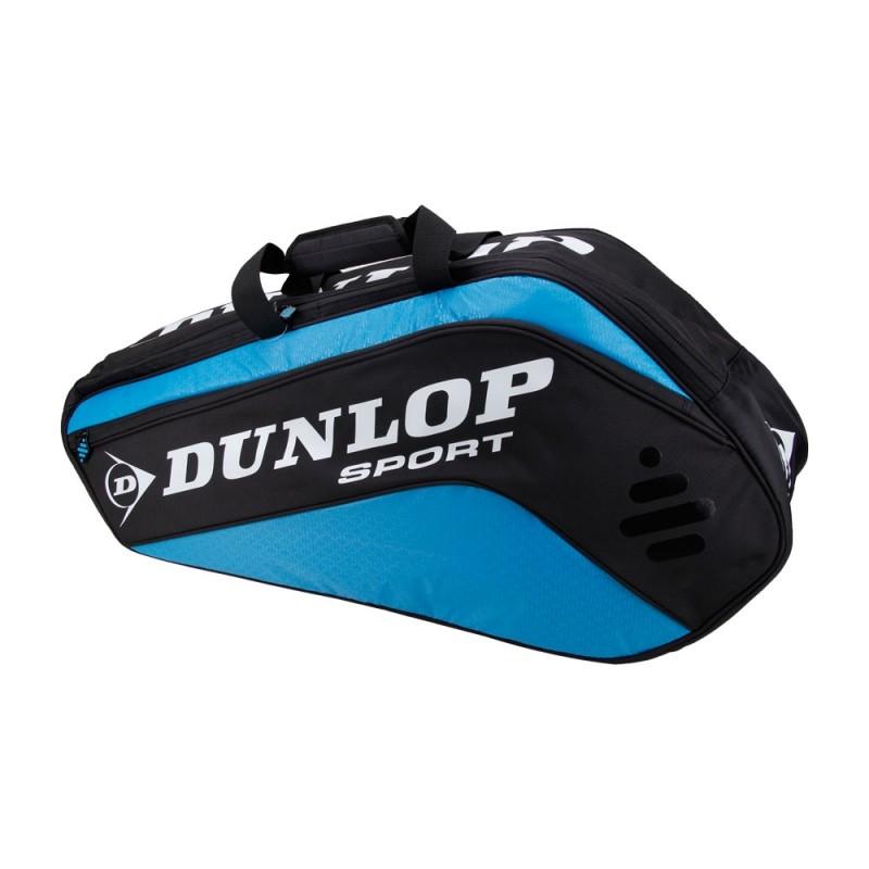 Raqueteira Dunlop Biomimetic Tour 6R - Azul e Preta