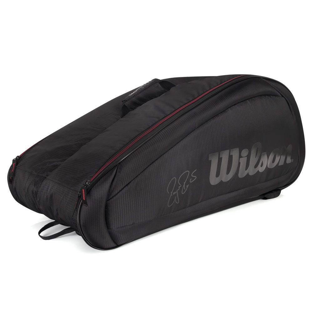 Raqueteira Wilson ESP Federer Team X12 Preta