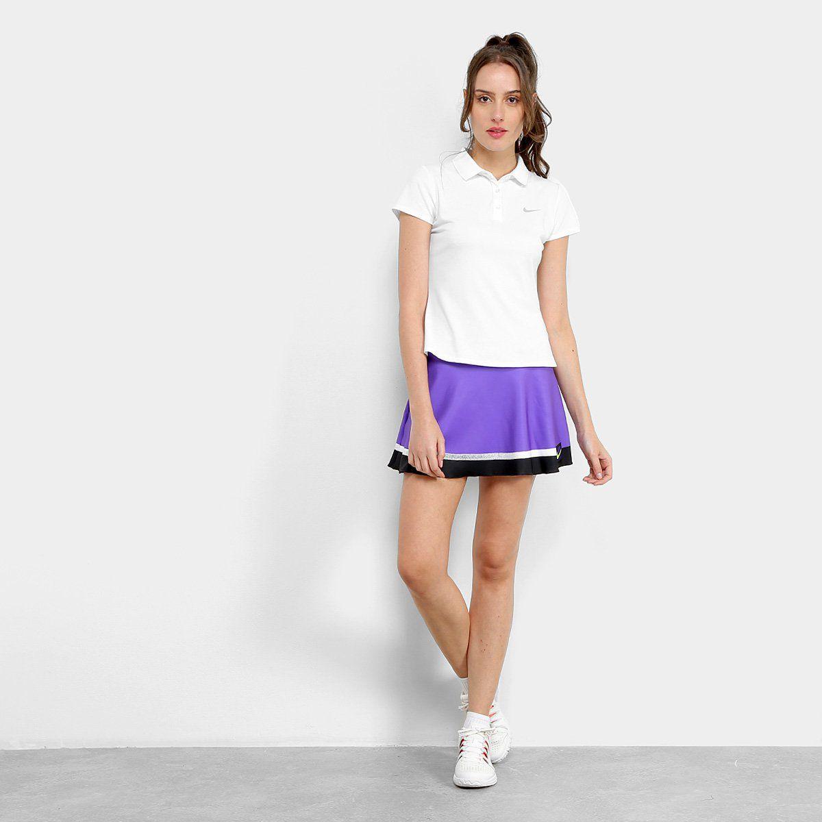 Saia Nike Feminina Roxa - US OPEN