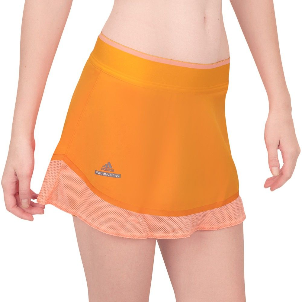 Saia Shorts Adidas Austrália Ouro e Laranja - Stella McCartney