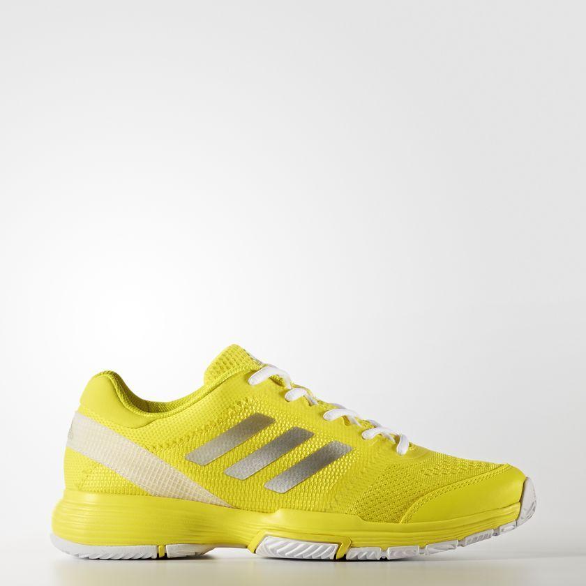 Tênis Adidas Barricade Club Amarelo Feminino