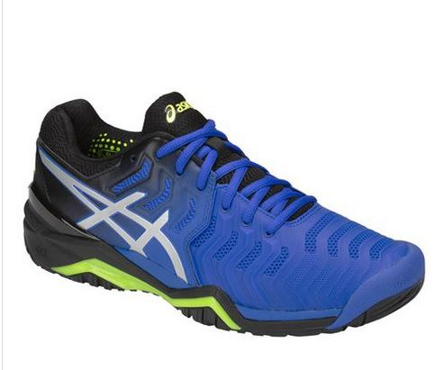 3b53477f7b Tênis Asics Gel Resolution 7 - Azul