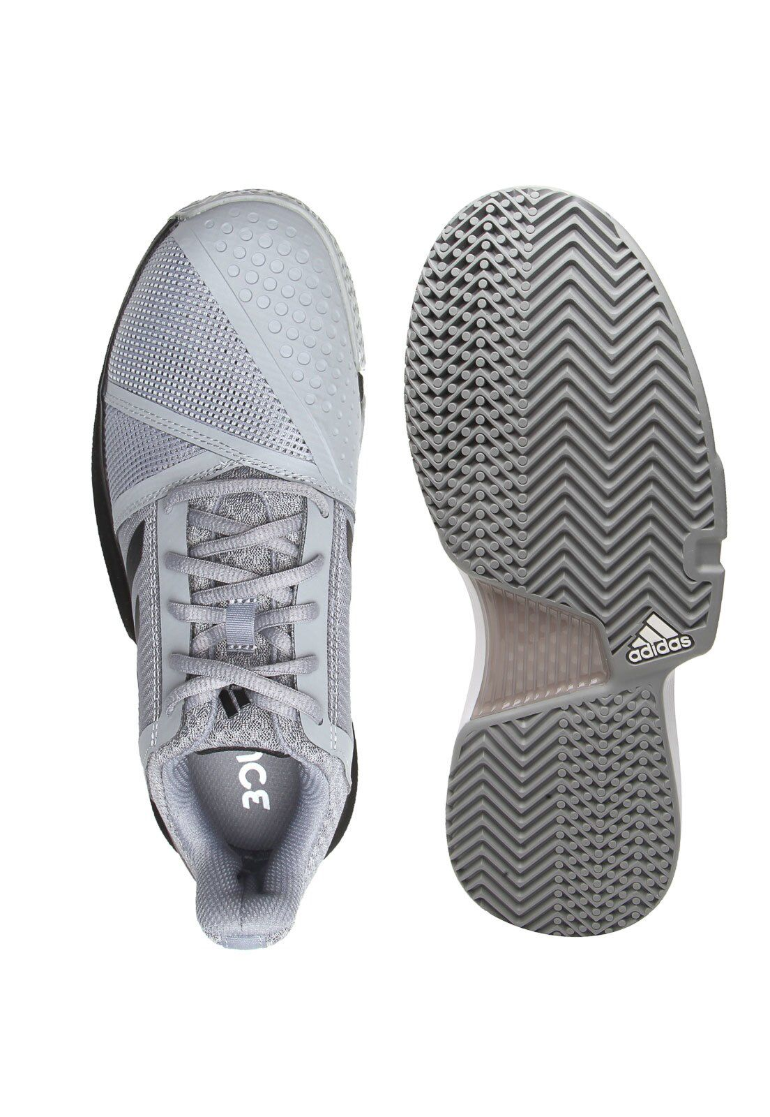 Tênis Courtjam Bounce Adidas - Cinza