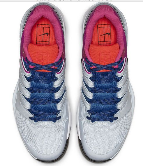 Tênis Nike Zoom Vapor X HC - Indigo/Azul/Rosa