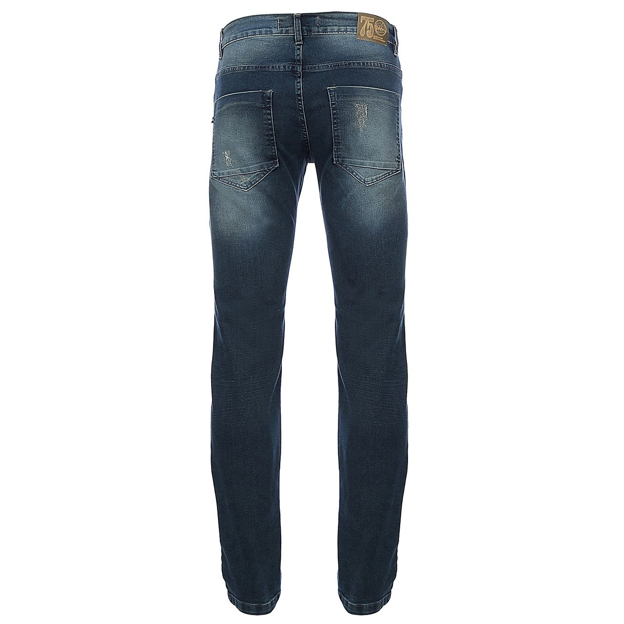 Calça Jeans Art Deco