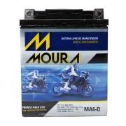 Bateria Moura Ma6-D 12 Volts 6 Amperes