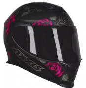 Capacete AXXIS EAGLE FLOWERS Pink T58