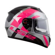 Capacete LS2 FF397 TRIDENT Pink T56