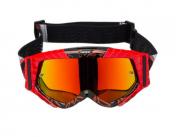 Óculos TEXX Raider MX PRETO VERMELHO