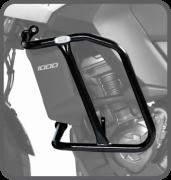 Protetor de Motor Carenagem com PEDALEIRA VERSYS 1000 2015 em diante